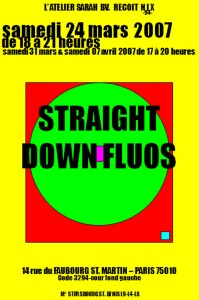 A - STRAIGHT DOWN FLUOS